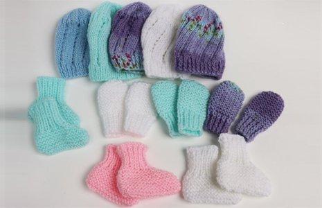 Socks, hats and cuddly teddies